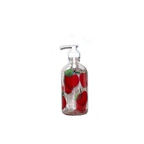 apple soap lotion pump dispenser