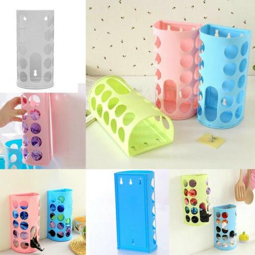 bag holder dispenser grocery plastic storage box