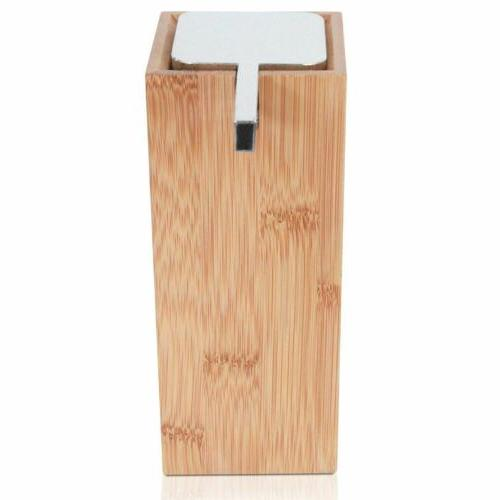 ToiletTree Products Modern 100% Wooden Soap and Lotion