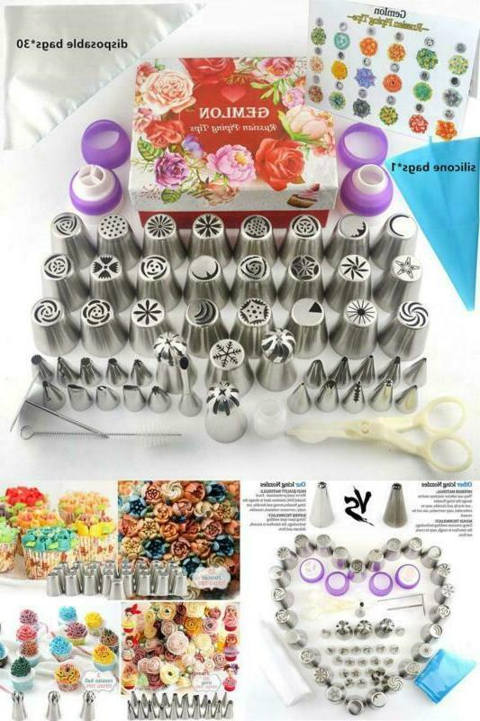 Cake Tips Icing Dispensers Decorating Supplies Kit