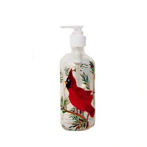 cardinal winter clear glass soap