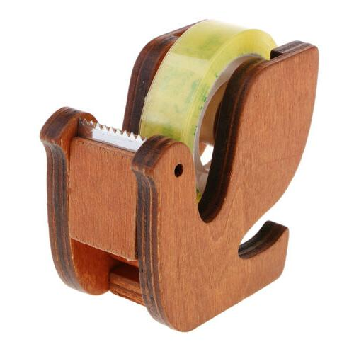 Desk Tape Dispenser, Masking Tape Cutter Student Office Stat