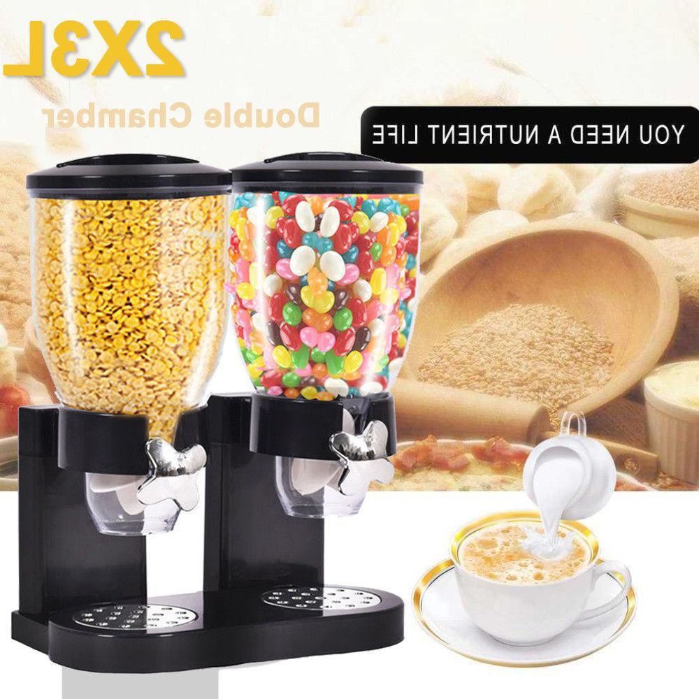 Dual Nut Cereal Candy Chrome Holder BEST