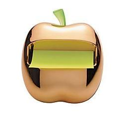 Post-It Gold Apple Pop-Up Note Dispenser for 3 x 3-Inch Note