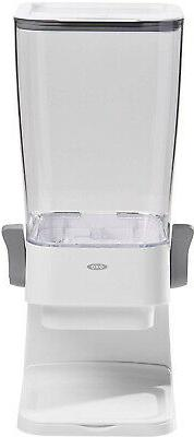 OXO Good Grips Countertop Cereal Dispenser, Clear/White