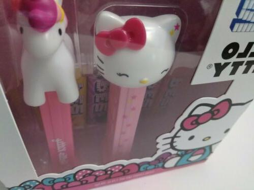Unicorn Pez 6 Pex Packs of Candy Sanrio