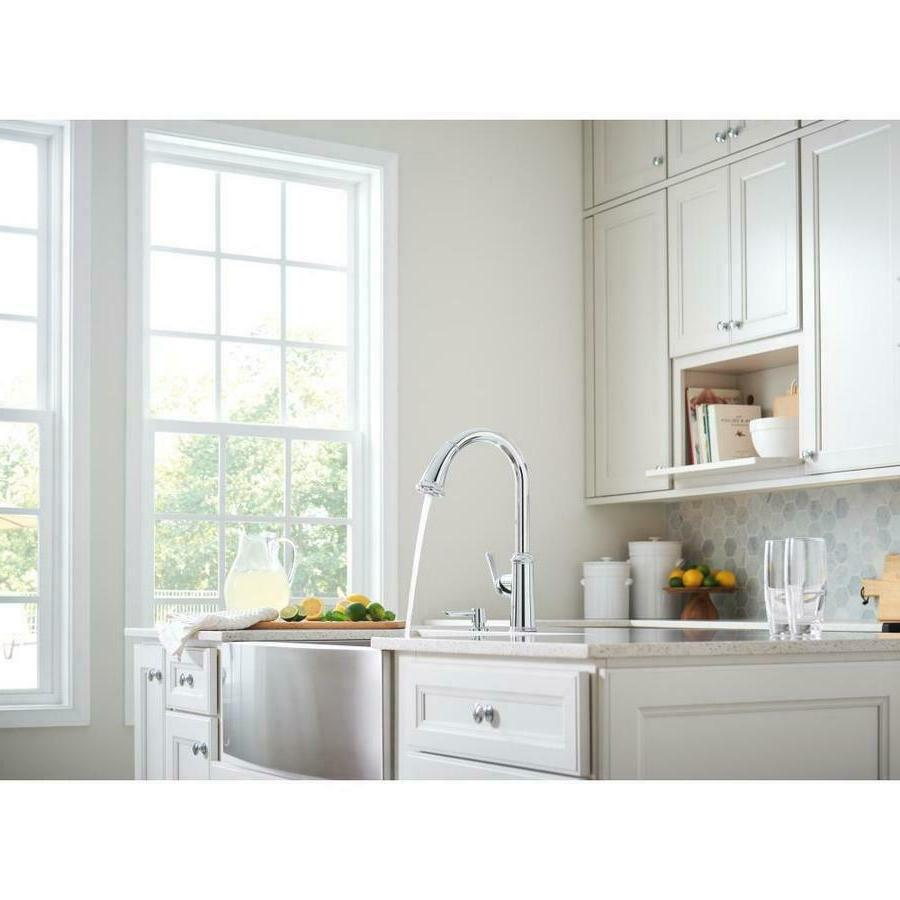 Grohe Faucet Pull Down Wth Dispenser Chrome