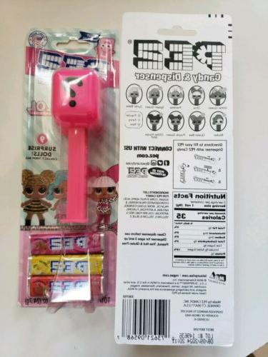 New PEZ Dolls 2X Collect 9! Free
