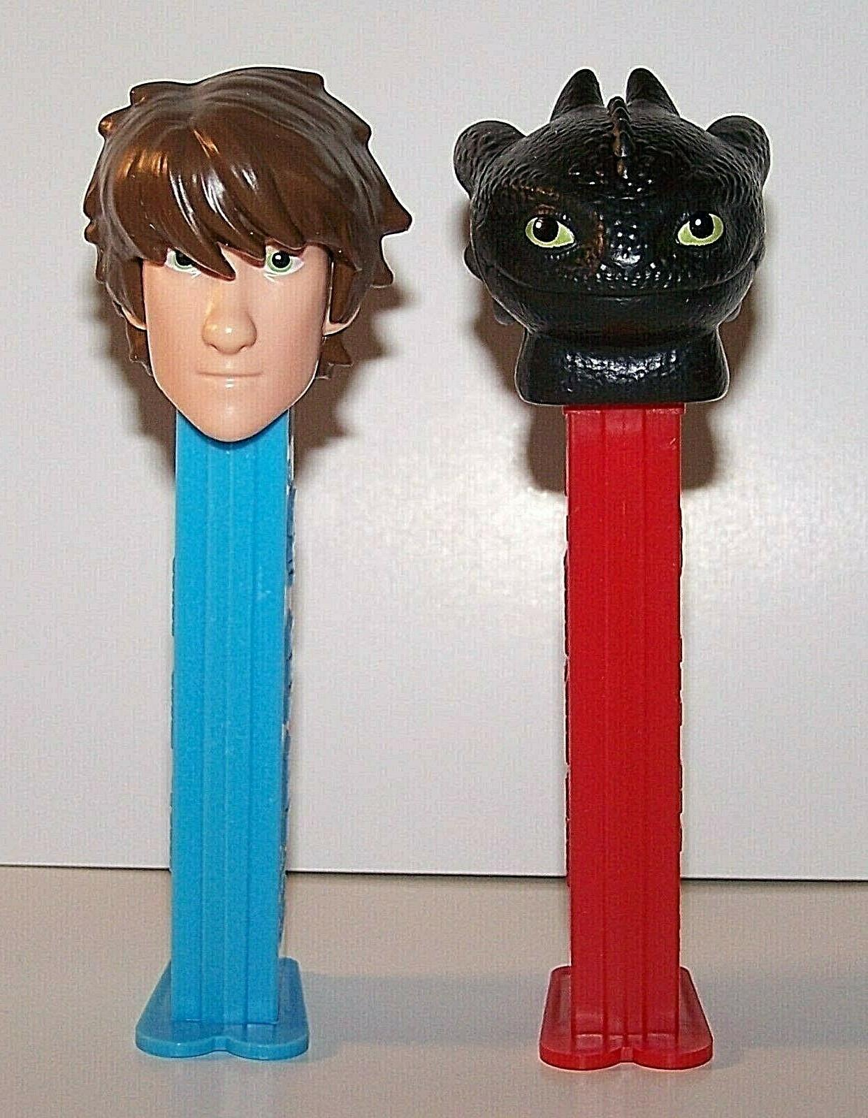 Pez Dispensers~How to Train Your and in Bags