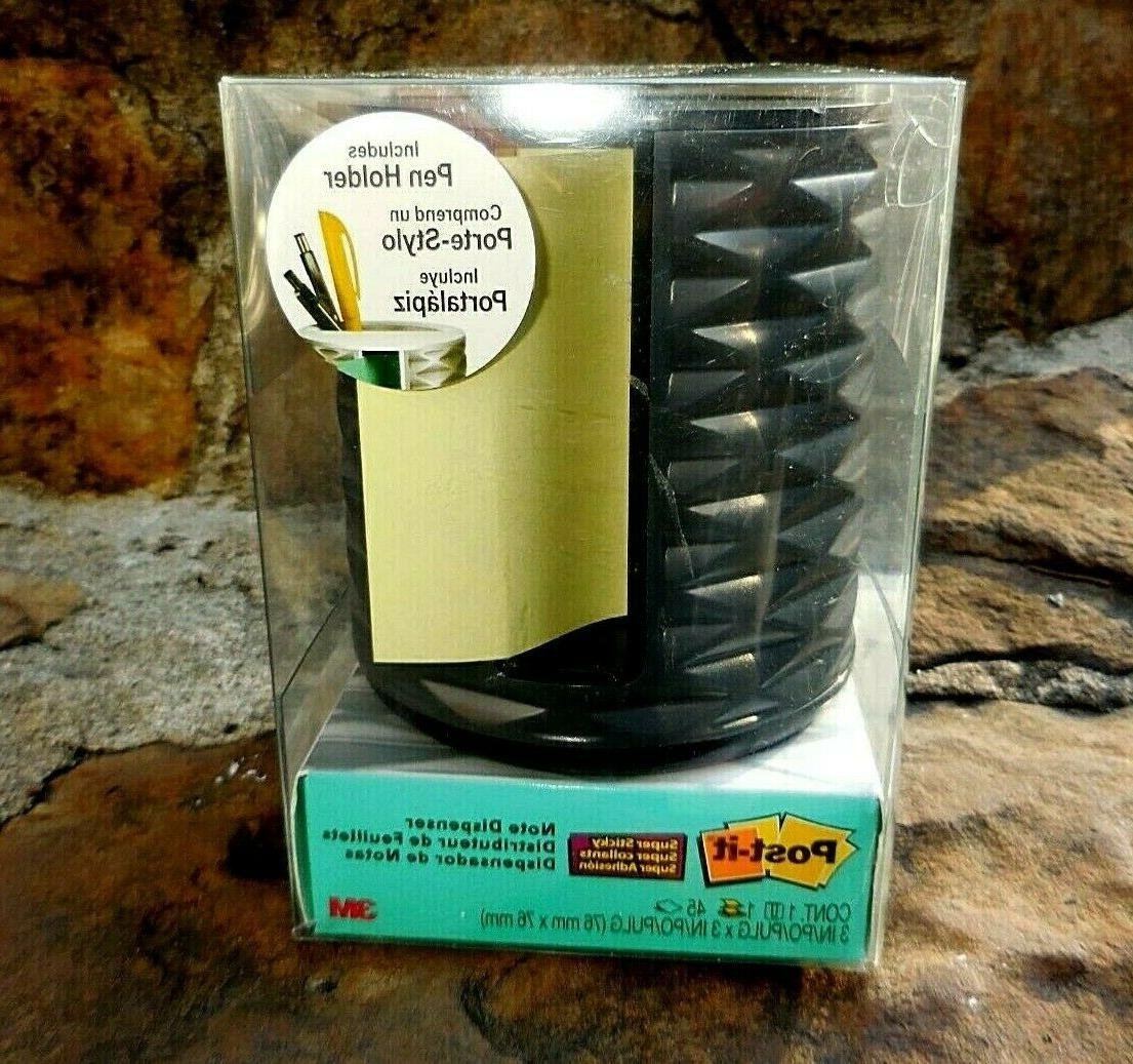 post it note weighted dispenser w pen