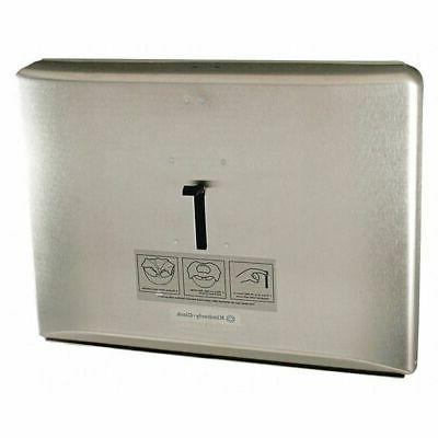 Reflections Toilet Seat Cover Dispenser, Stainless Steel, 16