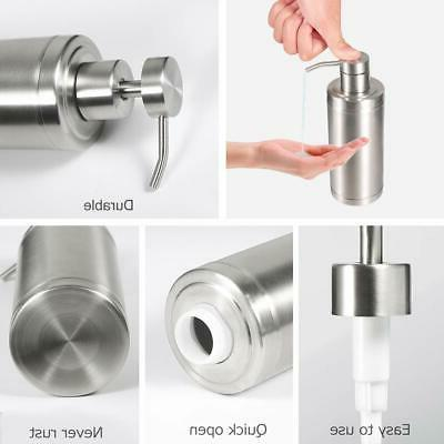 Soap Dispenser Pump Bathroom Kitchen Oz 304L Stainless Steel