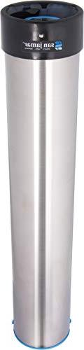 San Jamar Stainless Steel Surface Mount Beverage Foam Cup Di