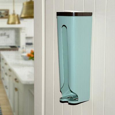 Useful Kitchen Wall Grocery Plastic Holder Storage Dispenser