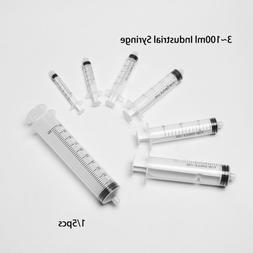 Liquid Dispenser Measuring Syringes Transparent Screw Type P