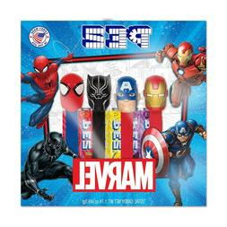 Marvel PEZ Collectible Gift Set, 4 Marvel Character Dispense