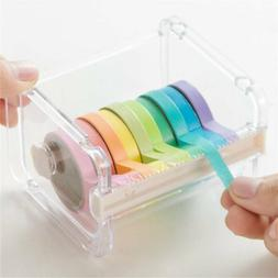 Masking Tape Cutter Tape Storage Organizer Cutter Office Tap