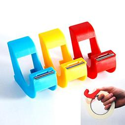 Masking Tape Dispenser 3 Pcs Revolutionary Mini Desktop Tape