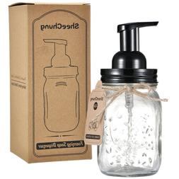 Mason Jar Foaming Soap Dispenser Pump Hand Qtip Apothecary H