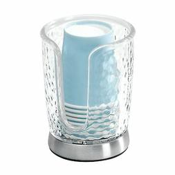 mDesign Disposable Paper Cup Dispenser for Bathroom Vanity C