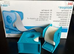 "3M Micropore PAPER Medical Tape WITH DISPENSER 1"" x 10 yds -"