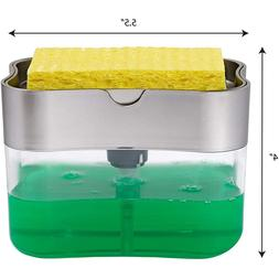 Multifunction <font><b>Soap</b></font> <font><b>Dispenser</b