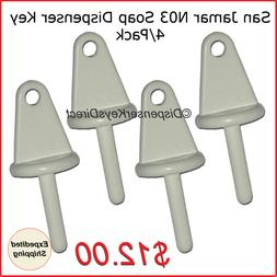 n03 dispenser key for liquid soap dispensers