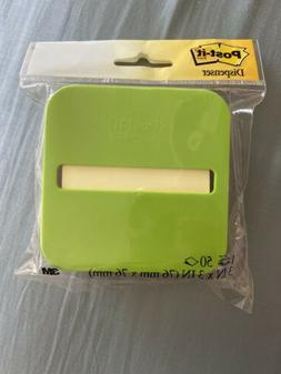 NEW IN PACK POST-IT STICKY NOTES PAD WITH CONVENIENT ONE HAN