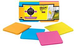 Post-it Notes Super Sticky Full Adhesive Notes, Assorted Bri