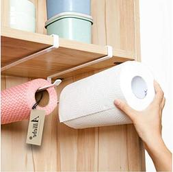 Alliebe 2pcs Paper Towel Holder Dispenser Under Cabinet Pape