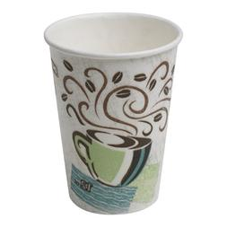Dixie PerfecTouch 5342DX WiseSize Insulated Paper Cup, 12oz