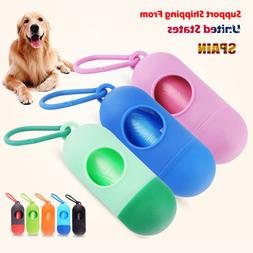 Pill /Bone 8 color Pet Dog Poop Bag <font><b>Dispenser</b></