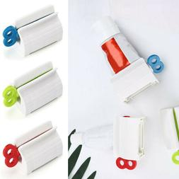 Plastic Toothpaste Tube Squeezer Easy Dispenser Rolling Hold