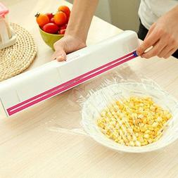 Plastic Wrap Dispenser Stretch Film Foil Cutting Storage Kit
