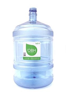 H8O Polycarbonate Water Bottle  with 48mm Cap, 5 Gallon
