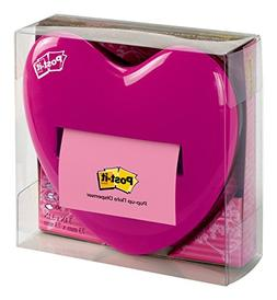 Post-it Pop-up Notes Dispenser for 3 x 3-Inch Notes, Pink, H