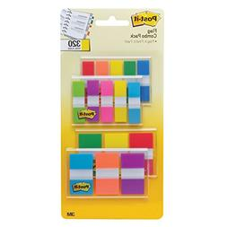 Post-it Flags Assorted Color Combo Pack, 320 Flags Total, 20