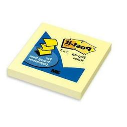 Post-it Pop-up Notes, Refill for Dispensers, 3 Inches 3 x 3