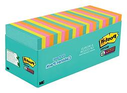Post-it Notes Super Sticky Super Sticky Pads in Miami Colors