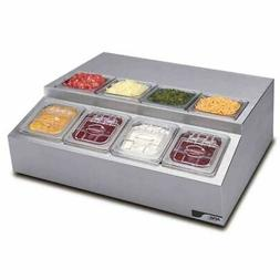 APW Wyott RTR-8 S/S Countertop Refrigerated Condiment Dispen