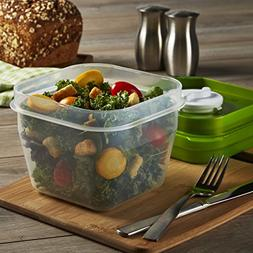 Fit & Fresh Salad Shaker Container, 1 ea