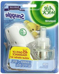 Air Wick Scented Oil Kit , Snuggle Fresh Linen, 1ct