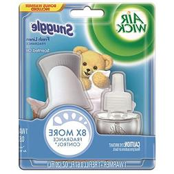 Air Wick Scented Oil Air Freshener Starter Kit, Snuggle Fres