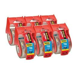 """Scotch 3850 Heavy Duty Shipping Tape Includes Dispensers 2"""""""