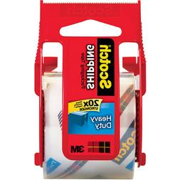 3M Scotch Shipping Heavy Duty Packaging Tape with Dispenser,