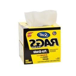 Scott Pro Grade Rags In A Box , Shop Towels for Solvents & H