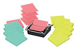 Post-it Sheet Super Sticky Note and Dispenser Value Pack, 3