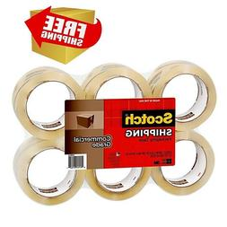 Shipping Packaging Tape for Boxes Mailing with Dispenser Hea