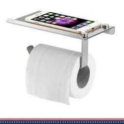 Solid Mount Toilet Paper Holder Stainless Bathroom Tissue Di