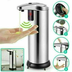 stainless steel automatic soap dispenser touchless smart
